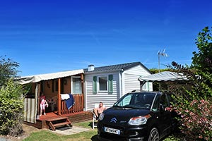 A comfortable mobile home for rental in Charente Maritime
